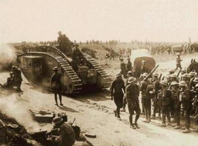 Começa a Primeira Guerra Mundial