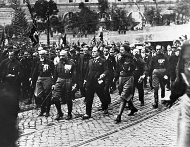 Marcha fascista sobre Roma