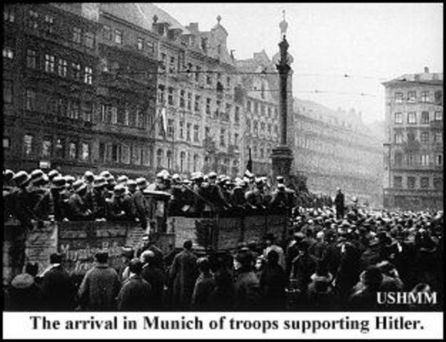 Putsch de Hitler em Munique