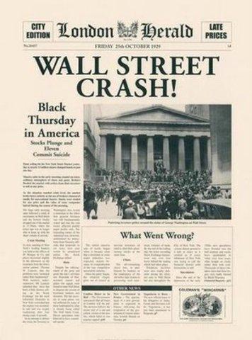 Crash da Bolsa de Nova Iorque