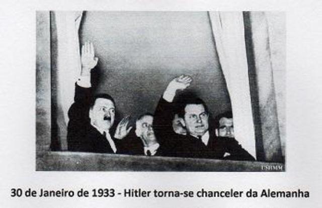 Hitler torna-se chanceler da Alemanha