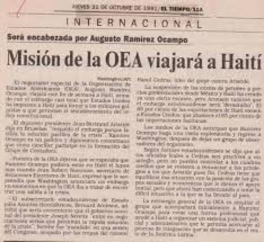 MIsión de Paz en Haití