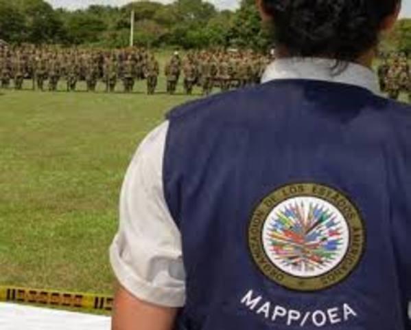 Misión de Apoyo al Proceso de Paz en Colombia (Mapp/OEA)