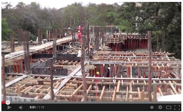Trident Grand Riverside: Construction Update 07/11/2013