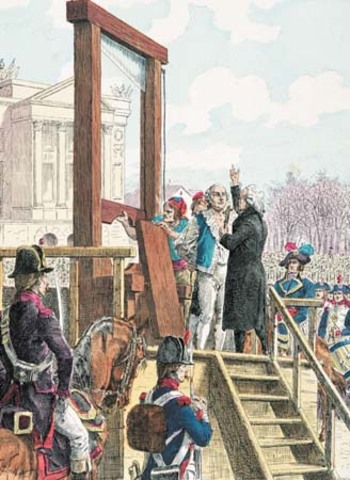 Louis XVI Trial and Execution
