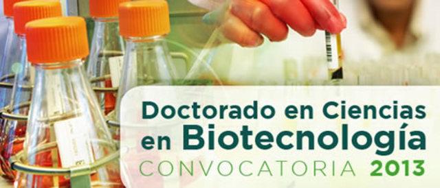 Doctorado en Genetica o IBT