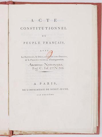 Constitution of 1793