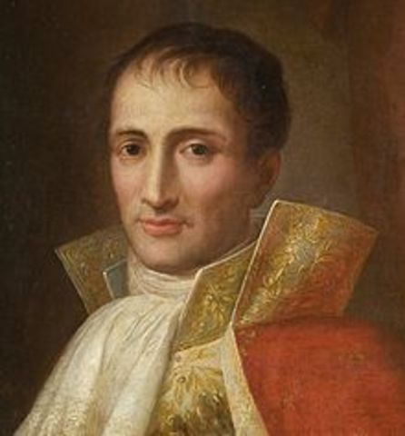 Napoleon Names His Brother King of Naples