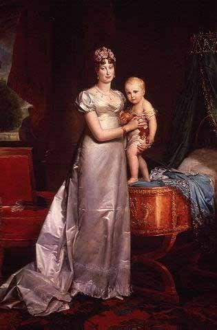 Napoleon's son born