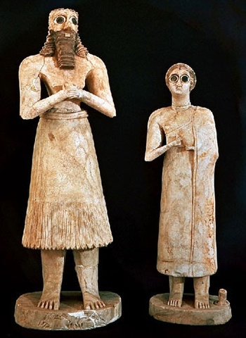 Sumerian Clothing before the 3500 BC