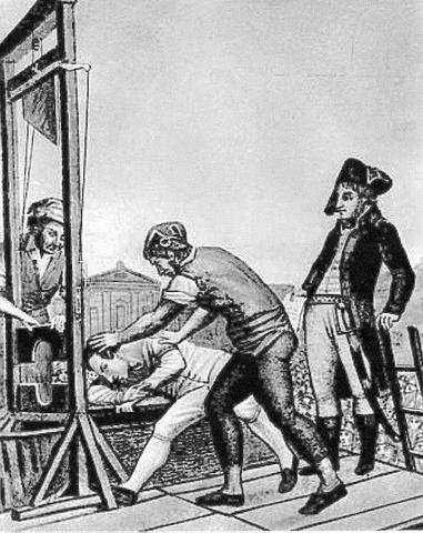 Robespierre is killed