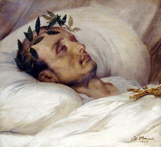 Napoleon died on St. Helena