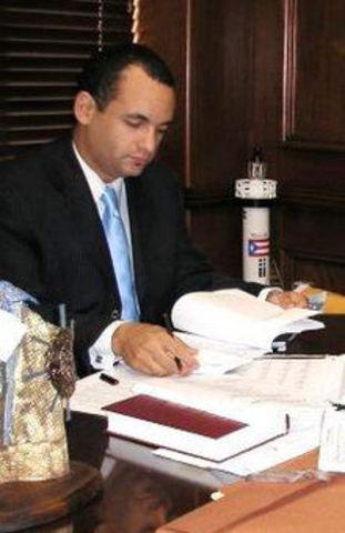 senador y distrito senatorial de Sabana Grande