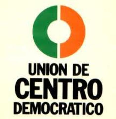 Se creó el partido Unión del Centro Democrático