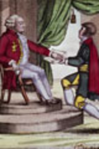 Louis XVI swears an oath to the Constitution