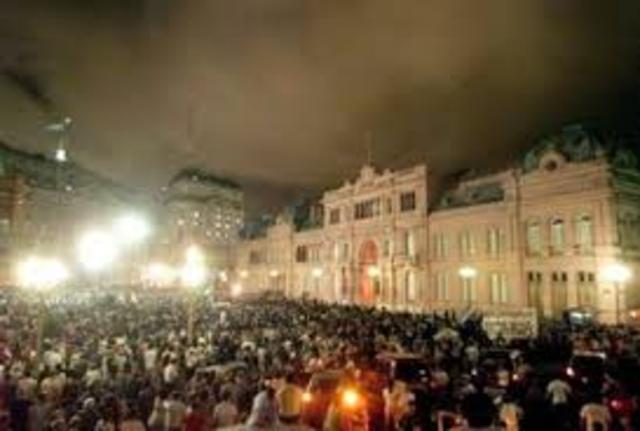 Muerte del ex presidente  Néstor Carlos Kirchner