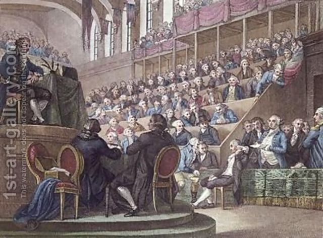 Louis XVI Brought to Trial