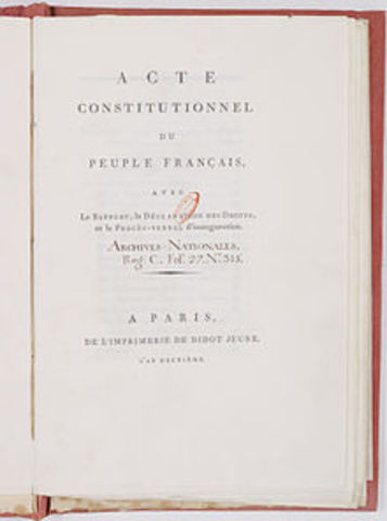 Ratification of new Constitution