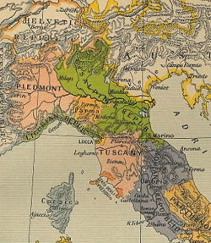 Cisalpine Republic Established
