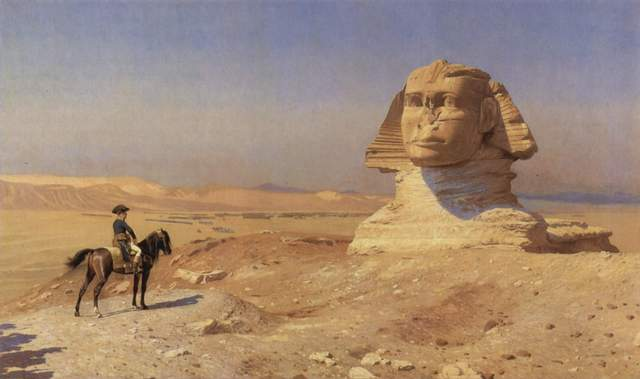 Napoleon Leaves Egypt