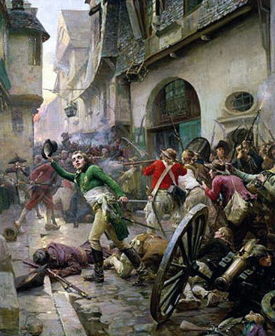 Beginning of Uprising in the Vendee