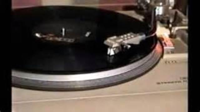 33 & 1/3 rpm record