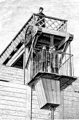 First Electric Elevator