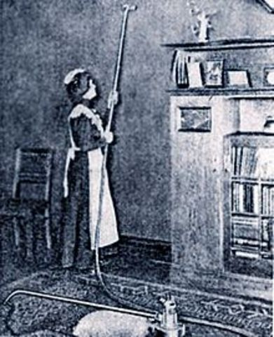First Motorized Vacuum Cleaner