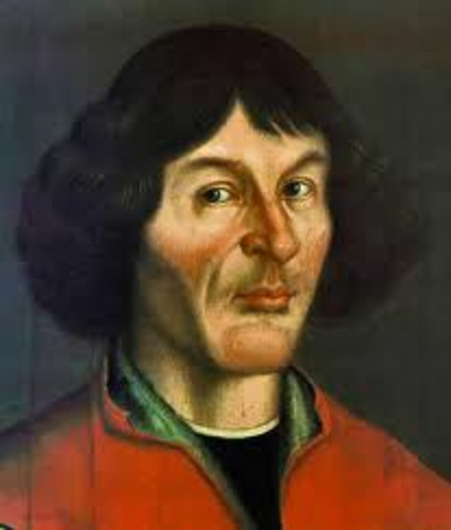 """Copernicus produces his book """"On the Revolutions of the Celestial Spheres."""""""