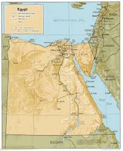 BC, The Basic Geography of Egypt