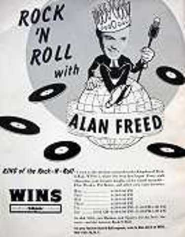 DJ Alan Freed Starts new radio show 'Rock and roll party'