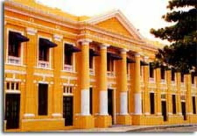 Construccion de la aduana en Barranquilla