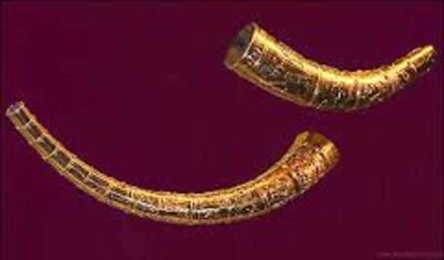 400 e.Kr. Guldhornene