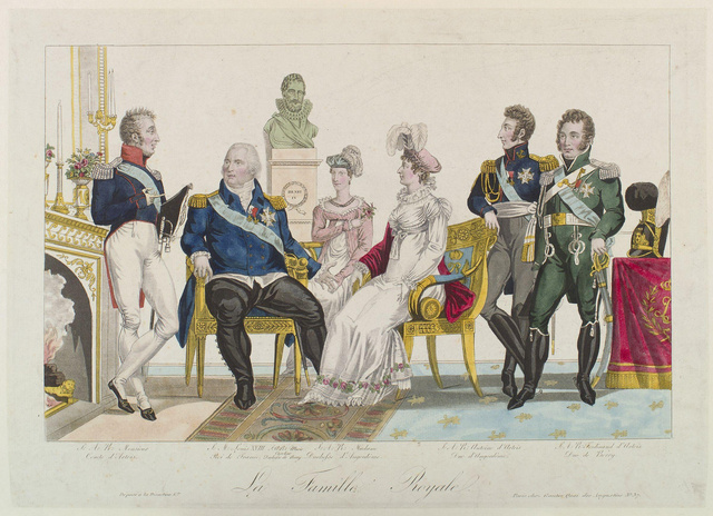 Louis agreed to the consolidation of all 3 estates