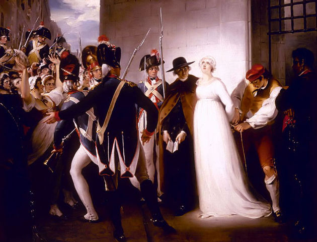 The execution of Marie-Antoinette