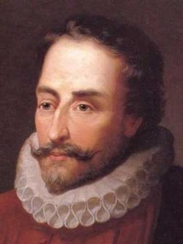 Miguel de Cervantes, Renässansen