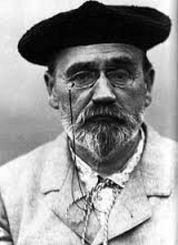 Emile Zola, Naturalismen