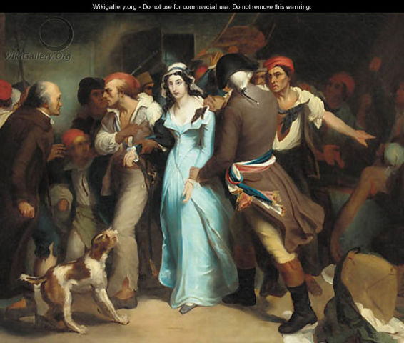 Murder of Marat by Charlotte Corday