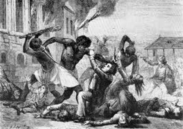St. Dominque slave revolt