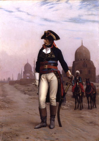 Napoleon begins invasion of Egypt