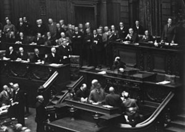 Reichstag Dissolved