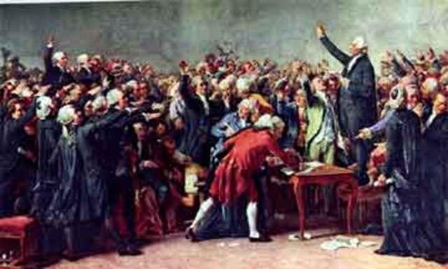 King Louis XVI calls the Esates-General