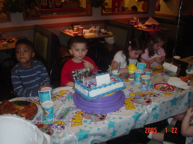 Joseph's 3rd Birthday