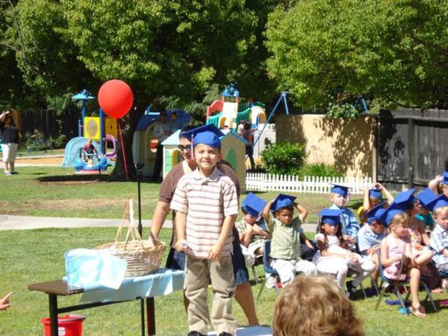 Joseph graduated preschool