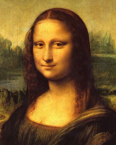 Mona Lisa is painted