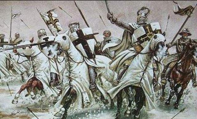 The Christian Crusades begin and Jerusalem is temporarily captured