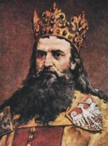 Casimir the Great invites persecuted Jews to Poland