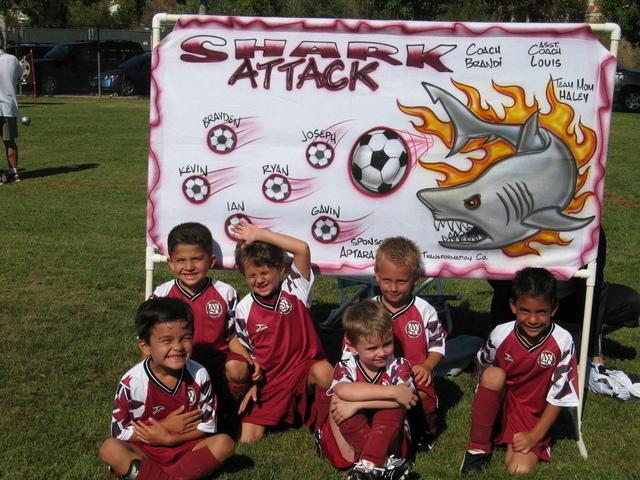 Joseph's 1st Soccer Team