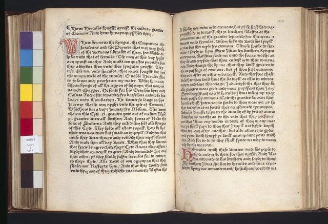 Первая печатная книга на английском языке