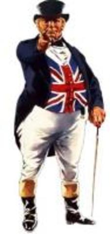 Впервые в истории появился образ, олицетворяющий Великобританию и национальный характер англича